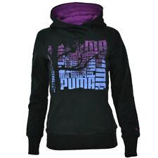 PUMA Sports Casual Fleece Womens Pull Over Graphic Hoodie Purple 825841 06 Ee79 UK 16
