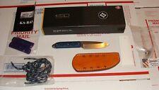KA-BAR Snody BOSS 5101 Drop Point Fixed Blade S35VN EDC Knife w/extras