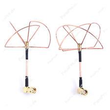 2.4GHz zirkulare Antennen Cloverleaf  FPV RP-SMA Audio Video Übertragung Sender