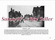 QZ1 Radlett c1907 & Watling Street, Radlett c1935 Hertfordshire