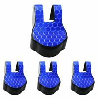 Door Check Arm Protection Limiting Stopper Case Cover Blue 4Pcs For Subaru BRZ