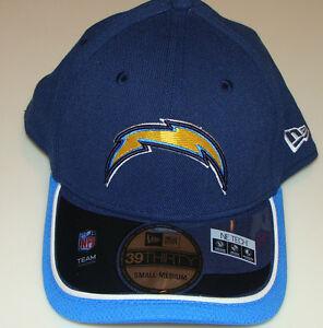 New Era Hat Cap NFL Football San Diego Chargers New Era On-Field 39THIRTY L/XL