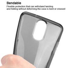For LG K10 K30 Case Flexible TPU Rubber Silicone Gel Slim Phone Cover Jet Black