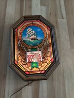 B. Vintage Heileman's Special Export Motion Beer Sign Lighted Old Style Nautical