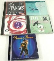 Lot de 5 CDs de Danse Tango Twist Mambo Valse etc  Envoi rapide et suivi