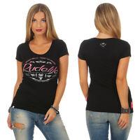 Yakuza Premium Damen T-Shirt 2734 schwarz Top in Größe XS bis XL
