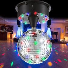 LED Party Beleuchtung Spiegel Kugel 13 cm Discokugel Schalter Kinder Zimmer Bunt