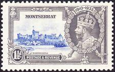 Montserrat - 1935 - 1 1/2 Pence Windsor Castle Silver Jubilee Issue # 86 Mint VF