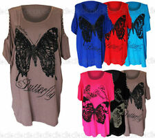 Butterfly Plus Size Batwing Tops & Shirts for Women