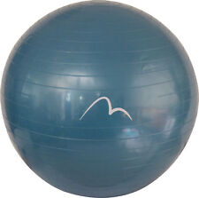 More Mile Fitness Gym Ball with Pump 65cm - Blue