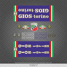 01367 Gios Professional Bicycle Stickers - Decals - Transfers