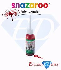 Snazaroo FX Gel Blood, Dark Blood Gel Special Realistic Effect Halloween - 50 ml