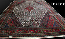 A Palace Size Antique 11' x 19' Bibikabad Area Rug