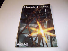 1981 LINCOLN CENTER THEATRE PLAYBILL - THE FLOATING LIGHT BULB - WOODY ALLEN