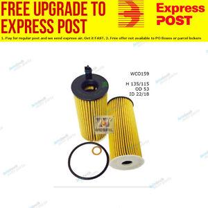 Wesfil Oil Filter WCO159 fits BMW 5 Series 520 d (F10,F18),520 d (F11),535 d