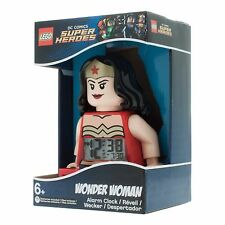 LEGO® Super Heroes 9009877 Wonder Woman™ Wecker Uhr Alarm Clock *NEU & OVP*