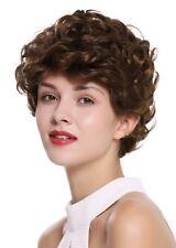 wig Me Up PERRUQUE pour femme court Boucles Bouclé Marron Brun moyen dw-2740-10