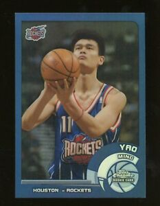 2002-03 Topps Chrome #146 Yao Ming Rookie Card RC Refractor