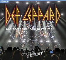 DEF LEPPARD New Sealed 2017 UNRELEASED LIVE DETROIT CONCERT BLU RAY & 2 CD SET