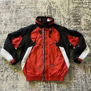 Killy Master Tech A.W.T. Recco. Ski Snowboard Jacket Red / White Size USA 44