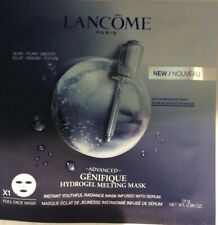 LANCOME PARIS ADVANCED GENIFIQUE HYDROGEL MELTING FULL FACE MASK,SEALED IN POUCH