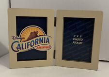 "WALT DISNEY ATTRACTIONS DISNEY'S CALIFORNIA ADVENTURE 2"" X 3""  PICTURE FRAME NEW"