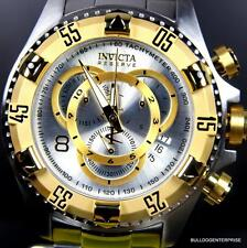 Invicta Reserve Excursion Touring Chronograph 52mm Steel Swiss Movt Watch New