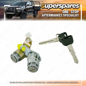 Superspares Universal Door Lock Barrel Keys Set for Honda Civic Ek Crv