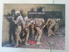 Heckler and Koch HK Assault Rifles Booklet Catalog Brochure NEW
