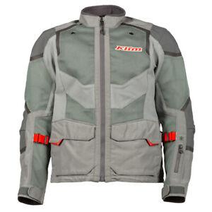 KLIM Sample Baja S4 Motorcycle Jacket Men's Large Cool Gray - Redrock