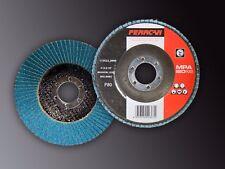 Disco de láminas de pulir  P80 115x22-T27 (Pack de 10 unades)