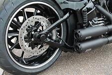 Achscover Softail  Hinten Schwarz Glänzend Harley Davidson Breakout Rocker C