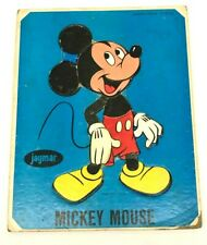 Vintage Jaymar Walt Disney Mickey Mouse Puzzle 1960's Complete