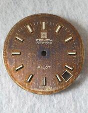 Vintage ZENITH PILOT dial for parts