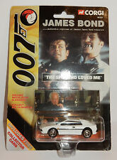CORGI JAMES BOND 007 THE SPY WHO LOWED ME LOTUS WHITE REF 99261 IN BOX