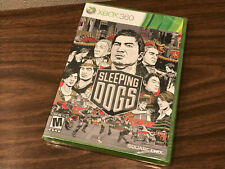 SLEEPING DOGS FOR MICROSOFT XBOX 360 / NEW, SEALED