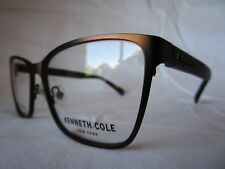 KENNETH COLE NEW YORK EYEGLASS FRAME KC0259/V 045 SHINY BROWN 54-16-135 NEW AUTH