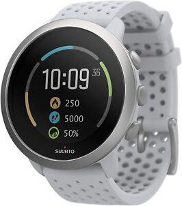 SUUNTO 3 Fitness Tracker Sports Watch Pebble White New!!!