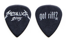 Metallica James Hetfield Got Riff? Black Ultex Guitar Pick 2015 Tour
