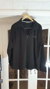 a CRAGHOPPERS Men Black Fleece Jacket Size L