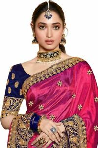 Heavy Bridal Bollywood Indian Wedding Pakistani Sari Designer Party ethnic Saree