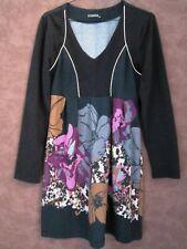 Robe LUXESTAR T40/42 - Robe noire 50% laine (1905019)