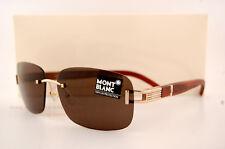 Brand New MONT BLANC Sunglasses MB 408 408S 28J brown for Men