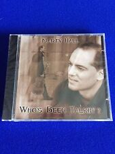 NEW Marty Hall Who's Been Talkin' Enja Blues Beacon 1998