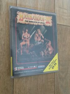 Barbarian The Dungeon Of Drax BBC MICRO CASSETTE