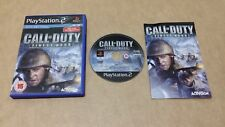 Call of Duty: Finest Hour (sony playstation 2) version européenne PAL