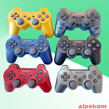 Original PS3 PLAYSTATION 3 Controller in Red, Gold, Blue, Grey, Black Dualshock