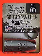 "TIMBER CREEK 3/4""-24 THREAD .50 BEOWULF TANKER MUZZLE BRAKE - CERAKOTE CLEAR"