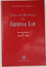 Elliott & Wood's Cases and Materials on Criminal Law,Michael J. Allen