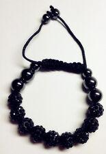 New Shamballa Czech  Crystal bracelet 9 Beads  Bangle Jewelry